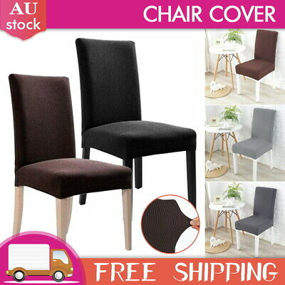 AU4.99 • Buy Stretch Dining Chair Cover Seat Covers Washable Banquet Wedding Party Removable