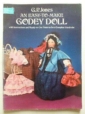 AU14.82 • Buy An Easy-To-Make GODEY DOLL By G. P Jones - Sewing – Dolls