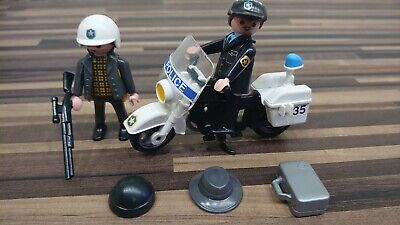 Lego Duplo Police Figures Bike + Accessories  • 5.95£