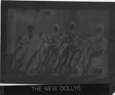 £10 • Buy The New Dollys Original Promotional Agency Photographic Negative 4x5 Inch