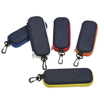 AU9.79 • Buy Sunglasses Case Hard Protable Eyeglass Cases Zip Eye Glasses Case Protector Box