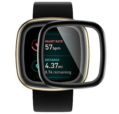 $ CDN5.88 • Buy Soft 3D Screen Protector For Fitbit Versa 3 Smartwatch Full Cover Film