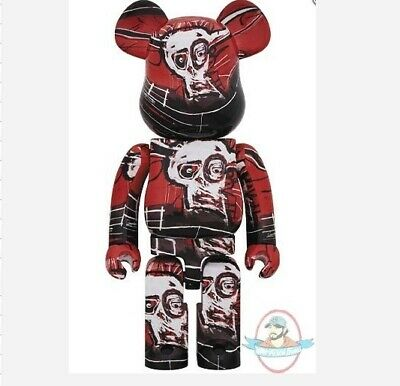 $999.99 • Buy Jean-Michel Basquiat No 5 1000% Bearbrick By Medicom