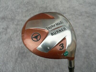 TaylorMade Burner # 3 Wood - Bubble 2 Shaft R-80 Regular Graphite ~USED~ • 21.99£