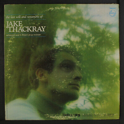 £10.97 • Buy JAKE THACKRAY: The Last Will And Testament Of Jake Thackray PHILIPS 12  LP
