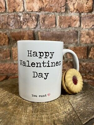 AU14.74 • Buy Happy Valentines Day Explicit Funny Valentines Rude Mug Gift For Him Her
