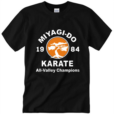 $18.99 • Buy Miyagi-Do Karate 1984 All-Valley Champions 80s Movie Retro Men's Cotton T-Shirt