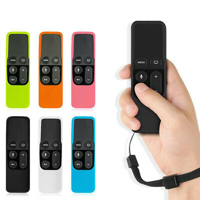 AU3.19 • Buy For Apple TV 4th Gen Siri Remote Controller Silicone Protective Cover Case Skin