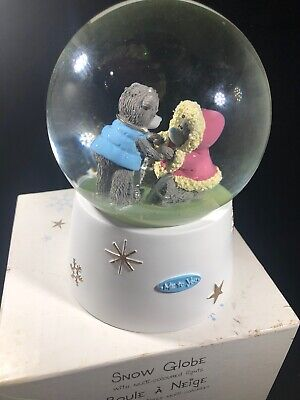 £14.52 • Buy Carte Blanche 'Me To You' Snow Globe With Multi-colored Lights Skating Bears