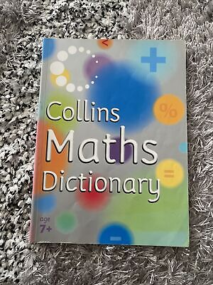 Collins Primary Dictionaries - Collins Maths Dictionary By Kay Gardner... • 6.50£