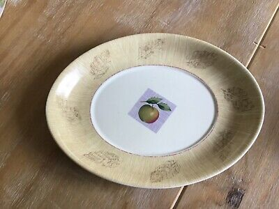 Marks And Spencer Wild Fruits Small Oval Plate • 2£