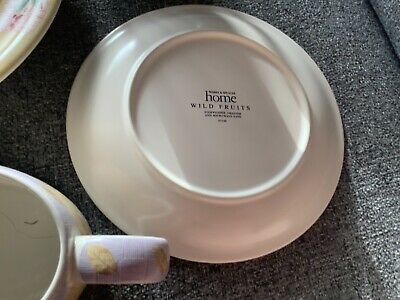 Mixed Lot MARKS AND SPENCER HOME POTTERY ST MICHAEL WILD FRUITS Used • 3£