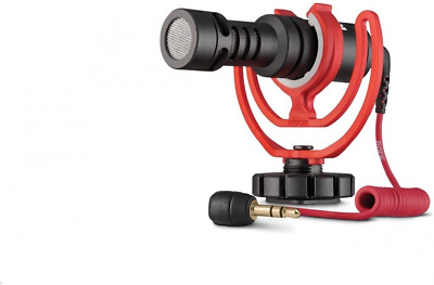 Rode VideoMicro Compact On Camera Microphone - Assorted Colors Black And Red  • 91.36£