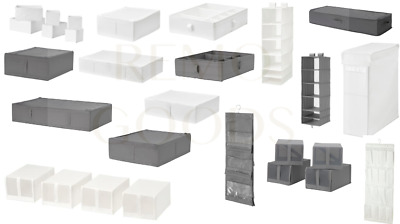 Ikea Skubb Various Items Box Compartments Drawers Laundry Organiser Shoe • 17.50£