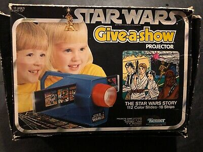 $ CDN74.66 • Buy Vintage Star Wars 1978 Give A Show Projector With All 16 Strips In Original Box