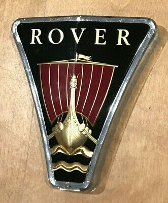 Rover P6 2000 3500 Grille Badge - Series 1 - In Fantastic Condition • 37£