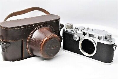 【Excellent+++++】Leica IIIf Red Dial Rangefinder Barnack Camera Body From Japan • 293.43£