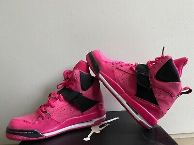 Girls Jordan Flt 45 (size Uk 4.5) NOT WORN BEFORE (pink And Black) With NO Tags • 40£