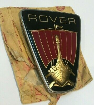 Nos New Old Stock - Rover P6 2000 2200 3500 Bonnet Badge - Series 2 - No Reserve • 147£