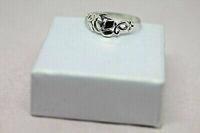 Solid Silver 925 Ladies Ring UK Handmade Size Available+ Gift Bag • 9.99£
