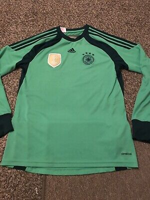 Germany Goalkeeper Shirt 15/16 Years, Adults Small • 4£