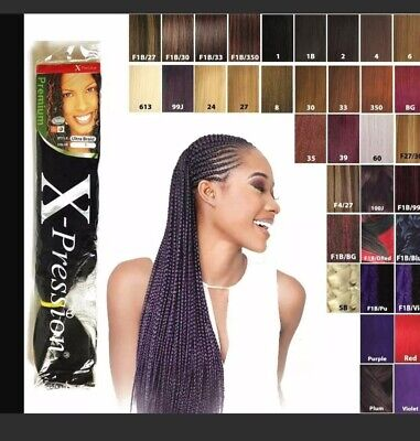 X-pression (xpression) Ultra Hair For Braiding, Expression  Kanekalon  Original • 4.92£