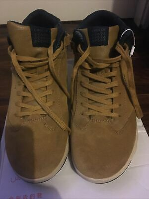 GEOX BOYS BOOTS Size 6 Brown Suede Excellent Condition • 15£