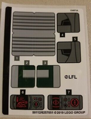Lego Star Wars STICKER SHEET For Set 75243 Slave I - 20th Anniversary Edition • 7.99£