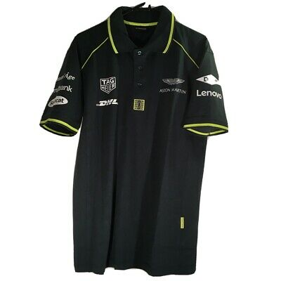 Aston Martin Polo Shirt 50% Cotton 50% Polyester • 15£