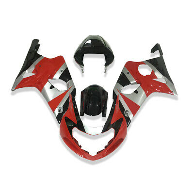 $469.99 • Buy LD Plastic Injection Red ABS Fairing Fit For 2000-2002 Suzuki GSXR 1000 C015