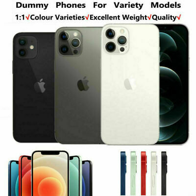 1:1 Non Working Dummy Model Display Fake Model For IPhone 12/Pro/12 Pro Max Mini • 13.69£