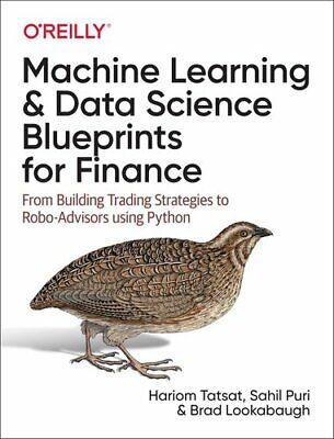 £37.35 • Buy Machine Learning And Data Science Blueprints For Finance From B... 9781492073055