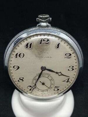 Cyma Tavannes Pocket Watch • 70£
