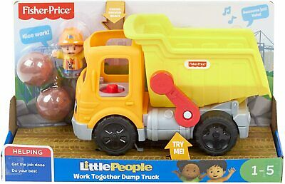 £11.99 • Buy Fisher Price Little People Work Together Dump Truck