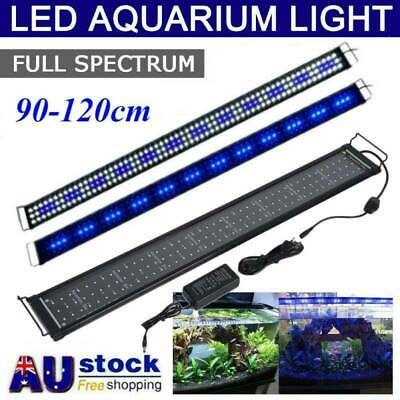 AU46.89 • Buy Aquarium Light LED Lighting 90 120 3ft 4ft Aqua Plant Fish Tank Bar Lamp Lights