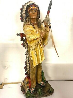 Native American Indian Chef  Ex- Display To Clear • 29.99£