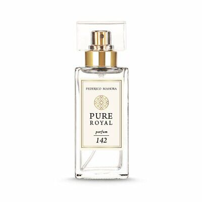 Fm 142 Pure Royal Parfum For Her Collection 50 Ml - New & Sealed • 26.90£