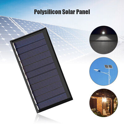 $4.19 • Buy 5.5V Solar Panel Mini Solar Charger For Outdoor Lighting Cell Polysilicon USA