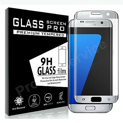 $ CDN5.53 • Buy 3D FULL COVER CURVED Tempered Glass Screen Protector For Samsung Galaxy S7 Edge