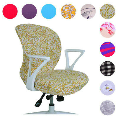 AU7.99 • Buy New Swivel Chair Cover Stretch Study Room Office Armchair Protective Seat Cover