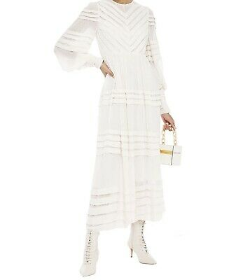 AU385 • Buy Zimmerman Sabotage Folded Tuck Dress - Size 3 - Ivory