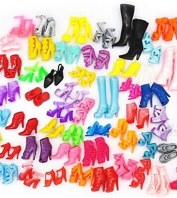 $ CDN12.59 • Buy NEW Lot Barbie Shoes, 20 Pairs,Premium Shoes, US Seller,same Day Ship