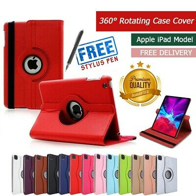 £3.39 • Buy Leather Case Cover For I Pad 2/3/4 Mini Air1/2  360 Degree Rotating Smart Stand.