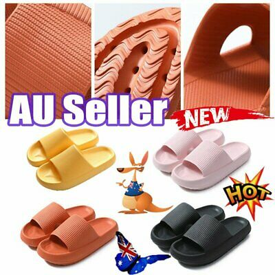 AU16.53 • Buy 2021 Latest Technology-super Soft Home Slippers Pillow Slippers AU STOCK NEW