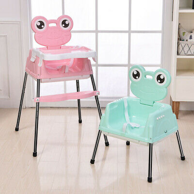 Baby High Chair Kids Toddler Infant High Chair Feeding Recliner Table Seat Chair • 25.55£