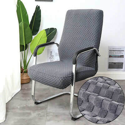 AU25.29 • Buy Knitted Jacquard Stretch Office Chair Cover Computer Seat Removable Dustproof