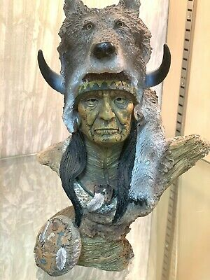 Native American Indian Wolf Man  • 24.99£