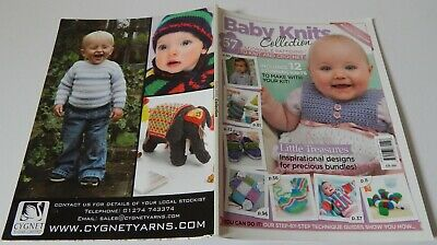 Baby Knits Collection 57 Patterns Knitting Crochet Magazine Style Book 114 Pages • 2.99£