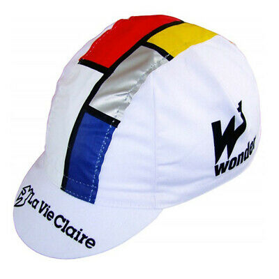 La Vie Claire Retro Vintage Cycling Team Bike Under Helmet Summer Hat Cap • 3.99£