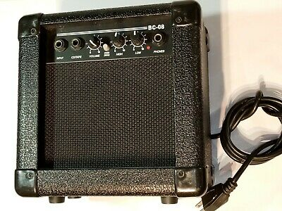 $ CDN58.69 • Buy Hollinger BC-08 Guitar Amplifier. Compact Size. Black. Tested Works.